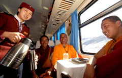 Tour code: 7days Chengdu-Lhasa train tour