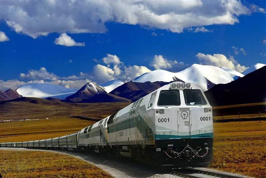 Our Qinghai-Tibet railway train tour in 2018